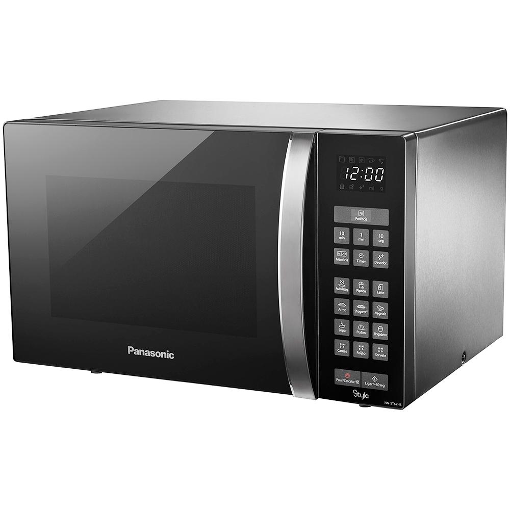 Forno Microondas 32 Litros - Panasonic -  Preto -  127V