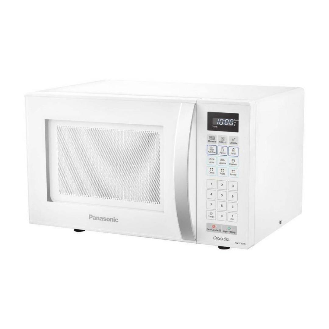 Forno Microondas Panasonic 21 Litros Branco - 127V