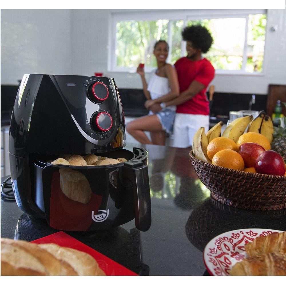 Fritadeira Air Fryer 4,5L - Amvox - 220Volts
