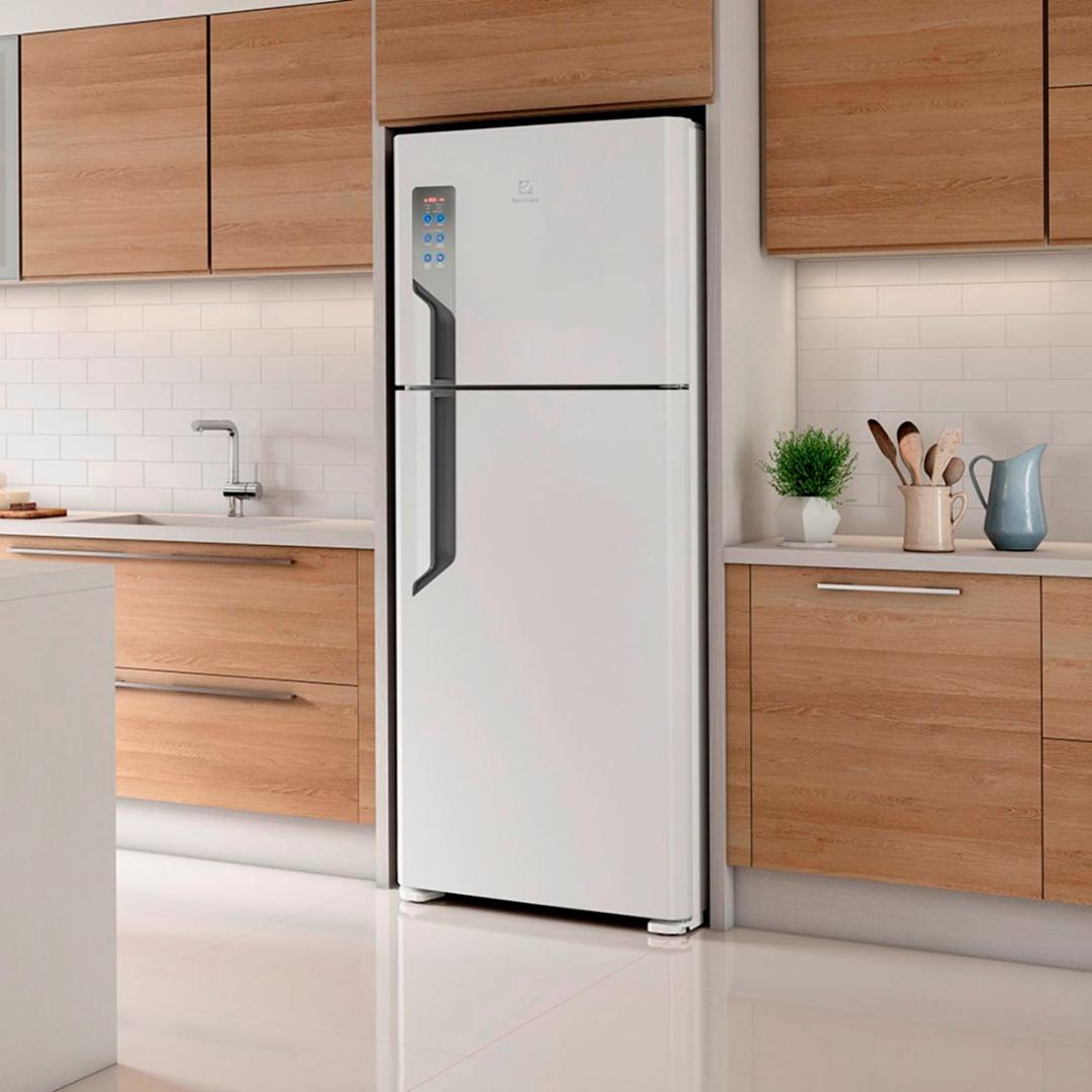 Refrigerador  2 Portas 431 Litros  - Electrolux - Branco (220 Volts )