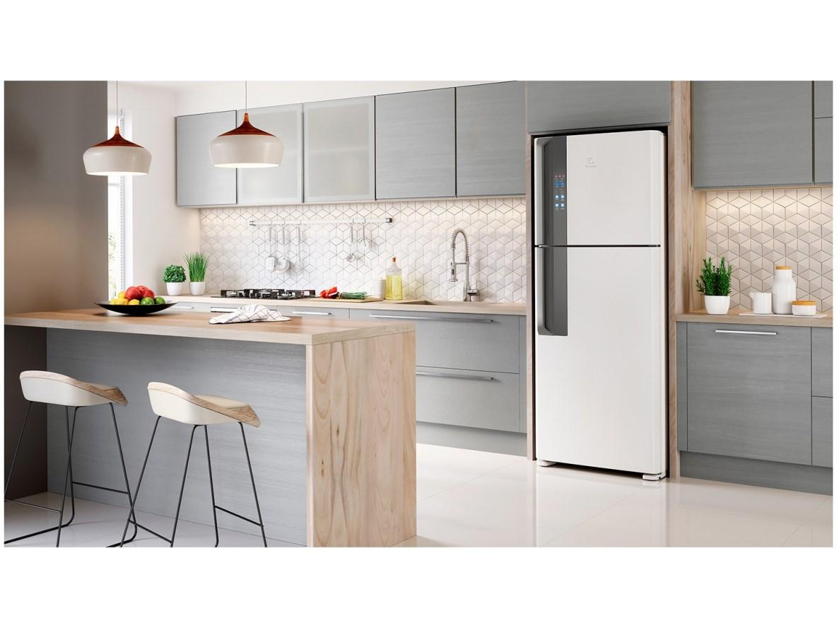 Geladeira/Refrigerador 2 Portas 471L - Electrolux - Branco ( 127 Volts )