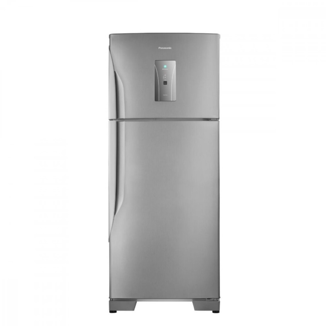 Geladeira/Refrigerador Frost Free - 435 Litros - Inox - Panasonic