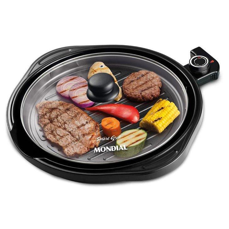 Grill Redondo Smart Grill G-04 220V - Mondial