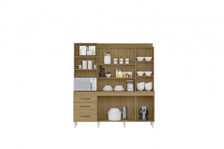 Kit Cozinha Mirela - Aramóveis - Atacama/Off White