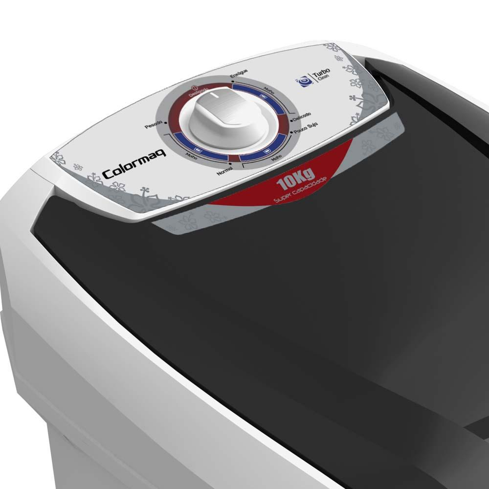Lavadora de Roupas 10Kg LCB10 Semiautomática Branca - Colormaq