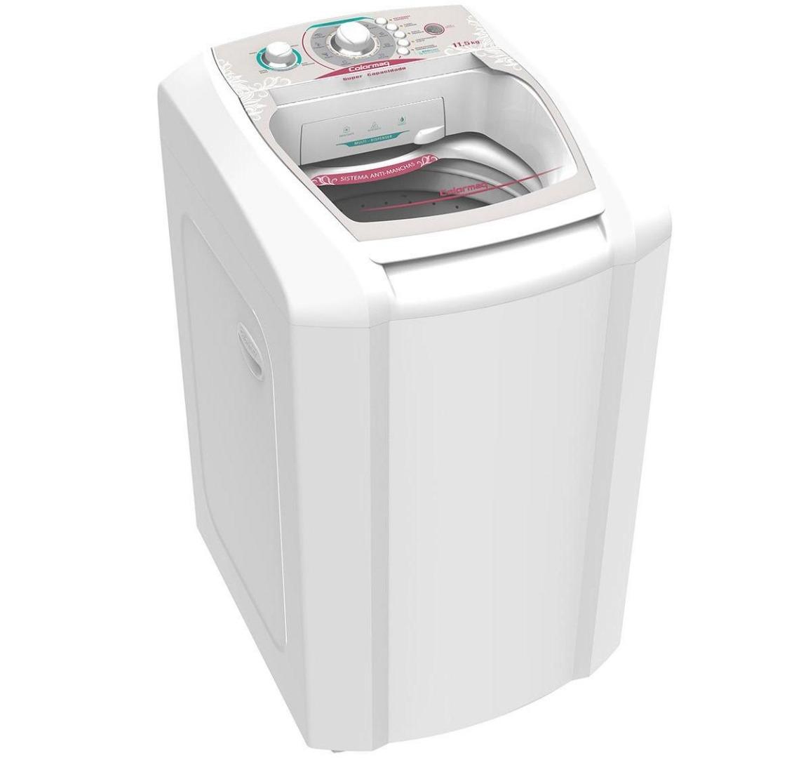 Lavadora de Roupas 11,5 Kg LCA12 com Filtro de Fiapos Branca - Colormaq