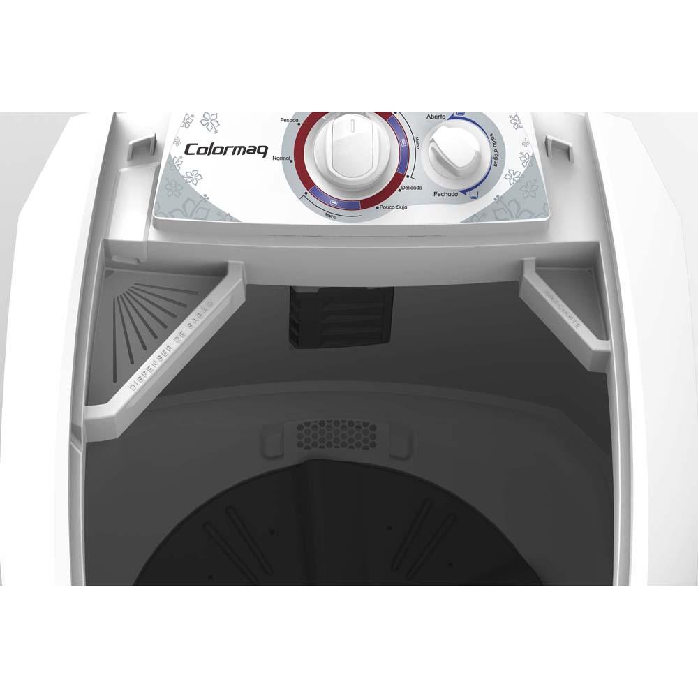 Lavadora de Roupas 220V Semiautomática 13Kg LCM13 com 5 Programas de Lavagem - Colormaq