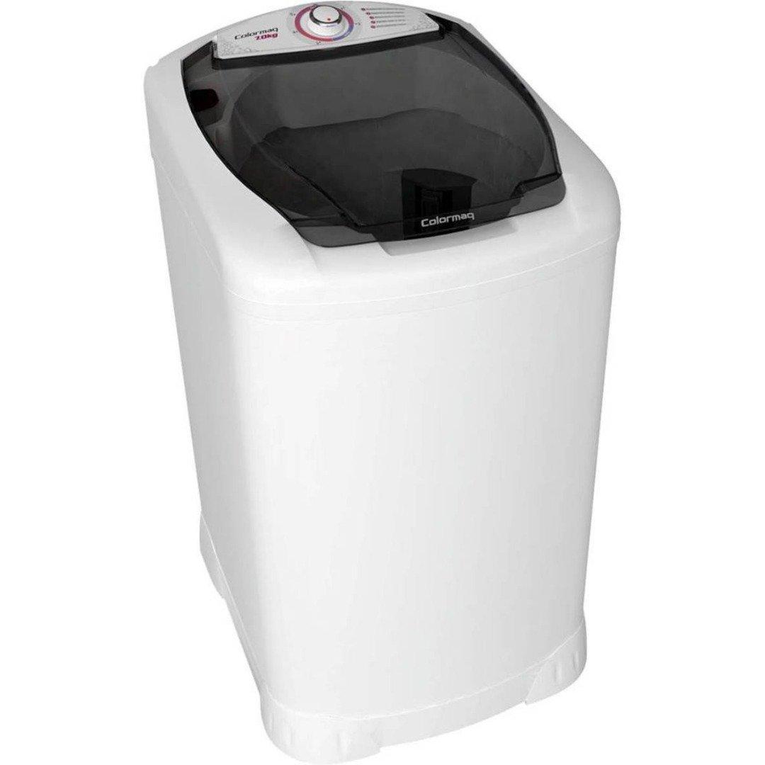 Lavadora de Roupas Semiautomática 7 kg LCM 7.0 com Tampa Inteligente Branca - Colormaq