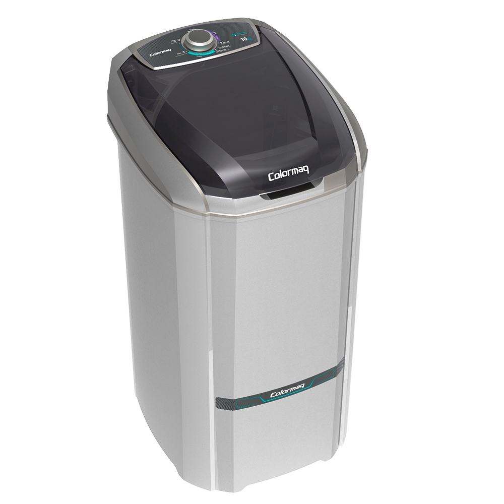 lavadora Lcs 10 Kg - Colomarq - Prata - 127 Volts