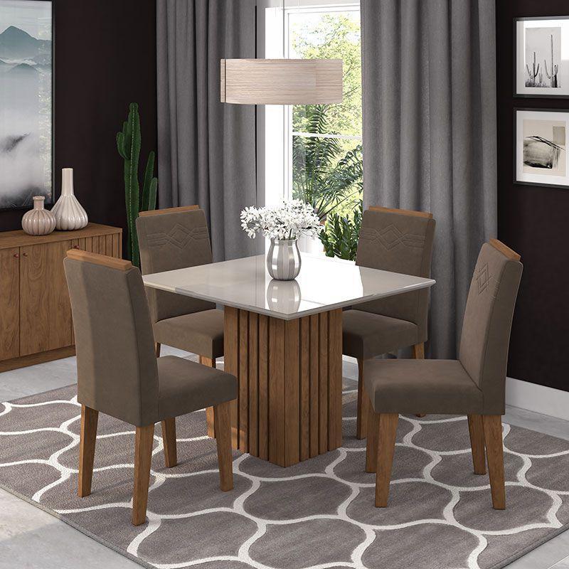 Mesa 4 Cadeiras Ana/Tais - Cimol