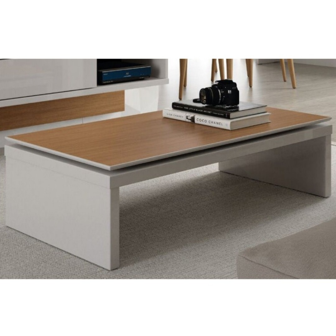 Mesa de Centro Lincoln - Natural Off White - Província
