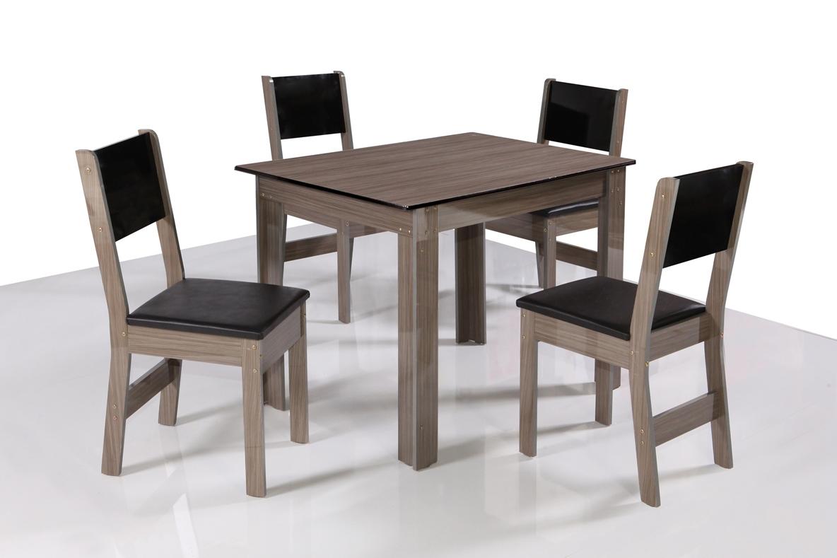Mesa Milena 4 Cadeiras - São Carlos - Rovere/Demolição