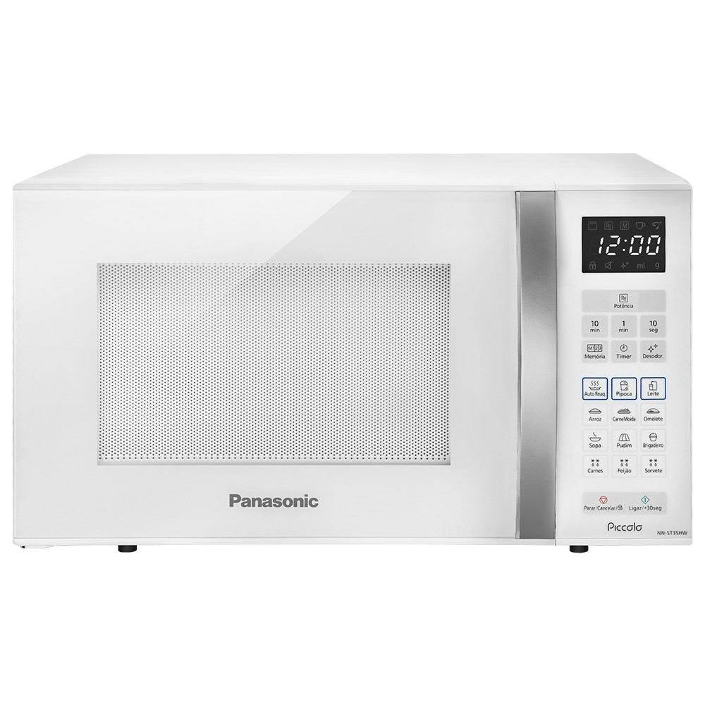 Forno Micro-ondas 25 Litros -  Branco - Panasonic