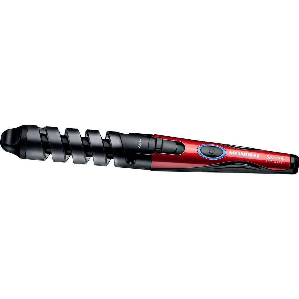 Modelador Spiral Infinity EM-05 Preto/Vermelho - Mondial