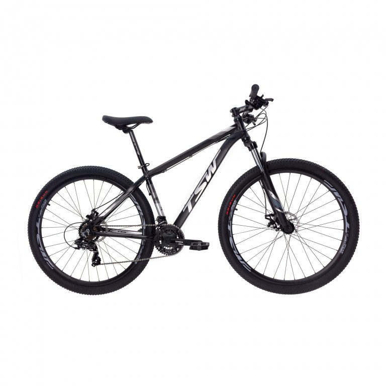 Mountain Bike TSW Ride Preto/Cinza - Aro 29