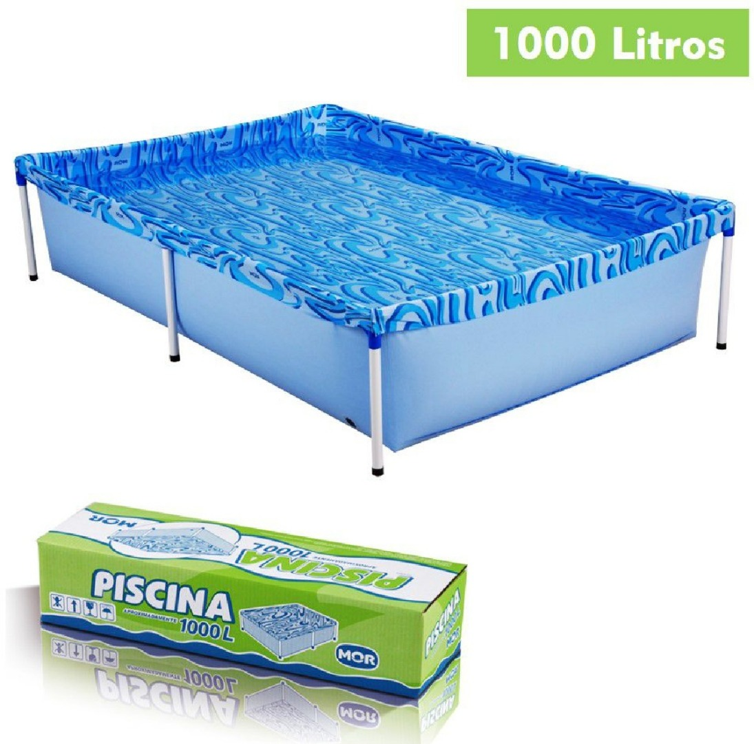 Piscina Infantil Retangular 1000 Litros - Mor