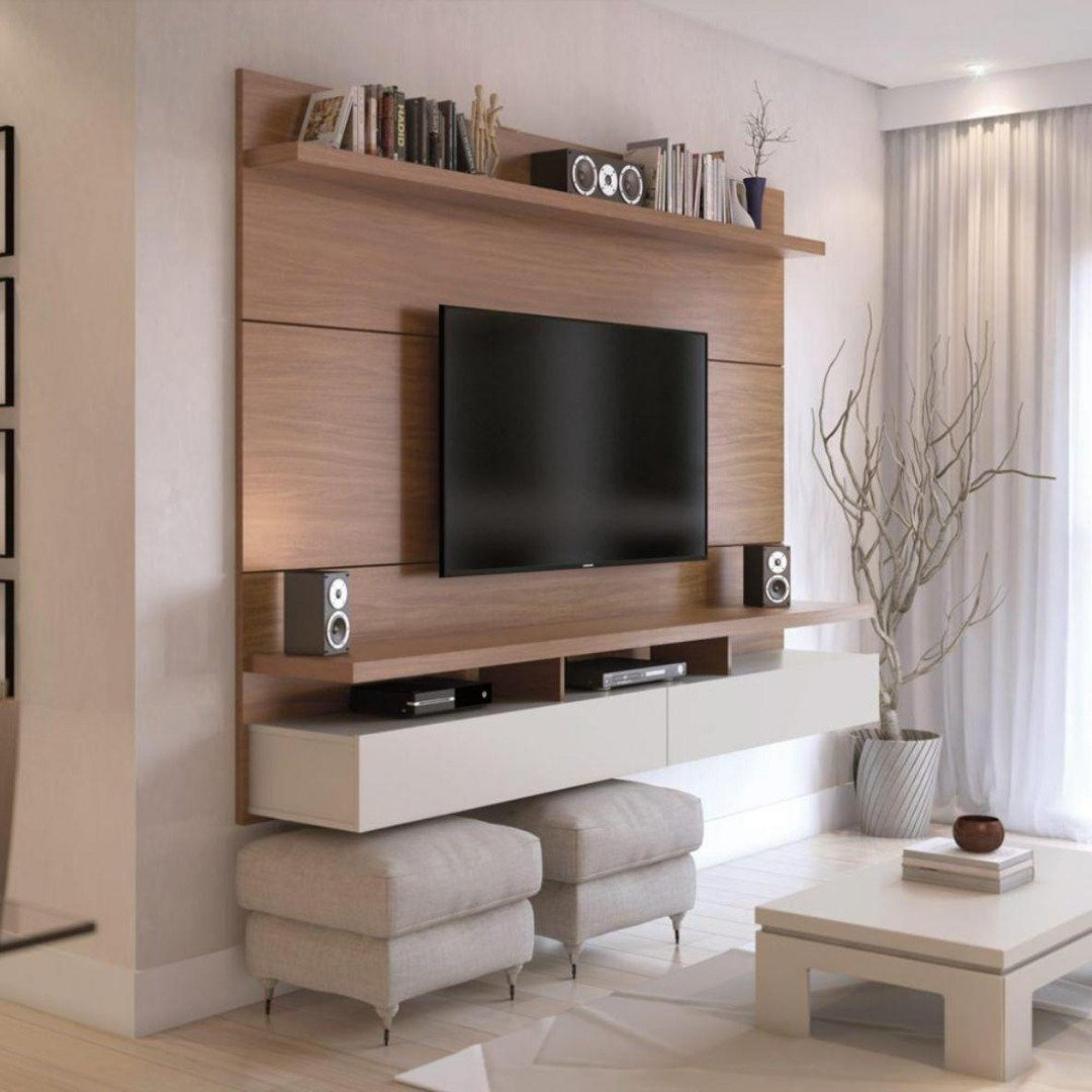 Rack com Painel City 1.8 Natural Off White - Província