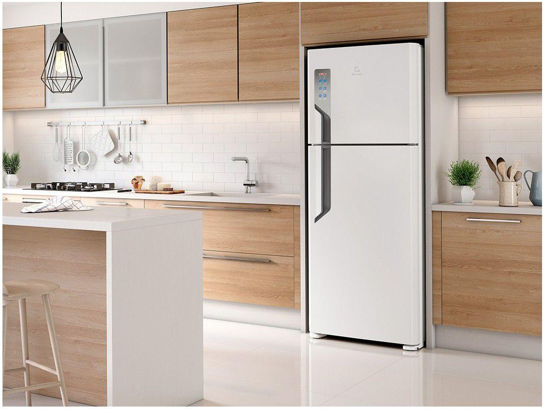 Refrigerador  2 Portas 431 Litros  - Electrolux - Branco (127 Volts)