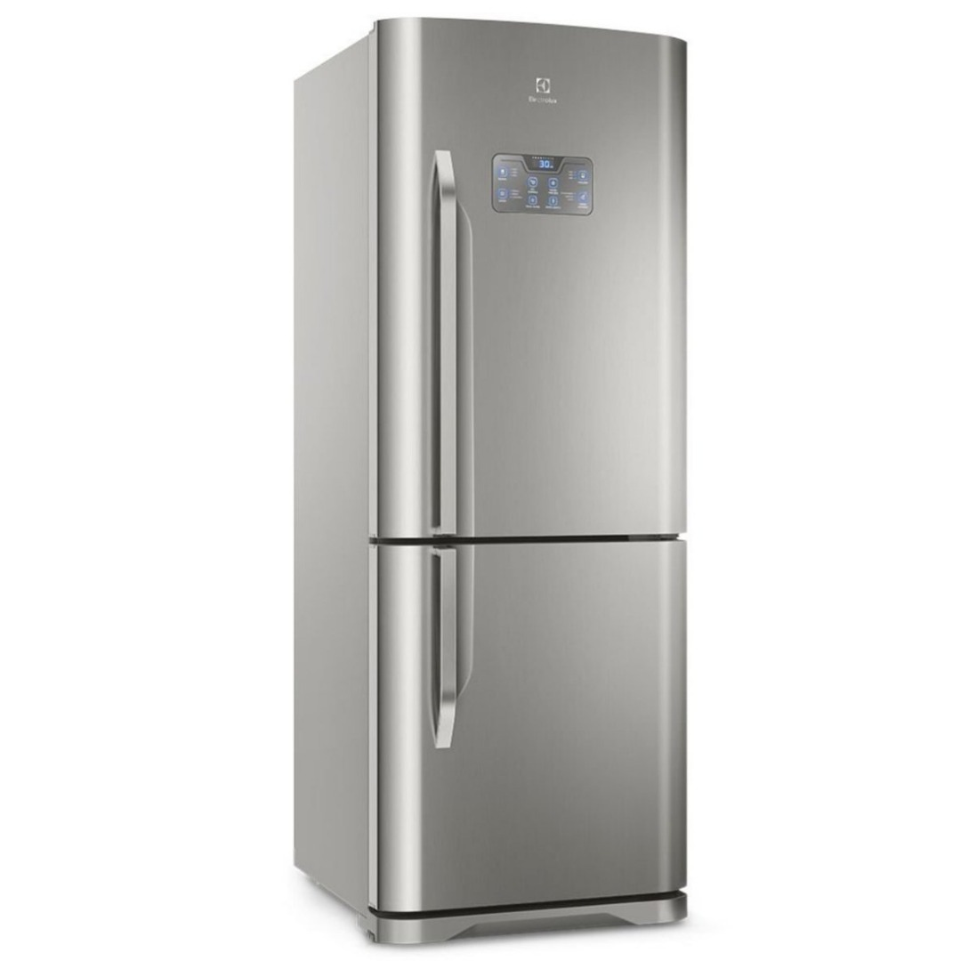 Refrigerador Bottom DB53X Frost Free com Painel Blue Touch 454L Inox - Electrolux