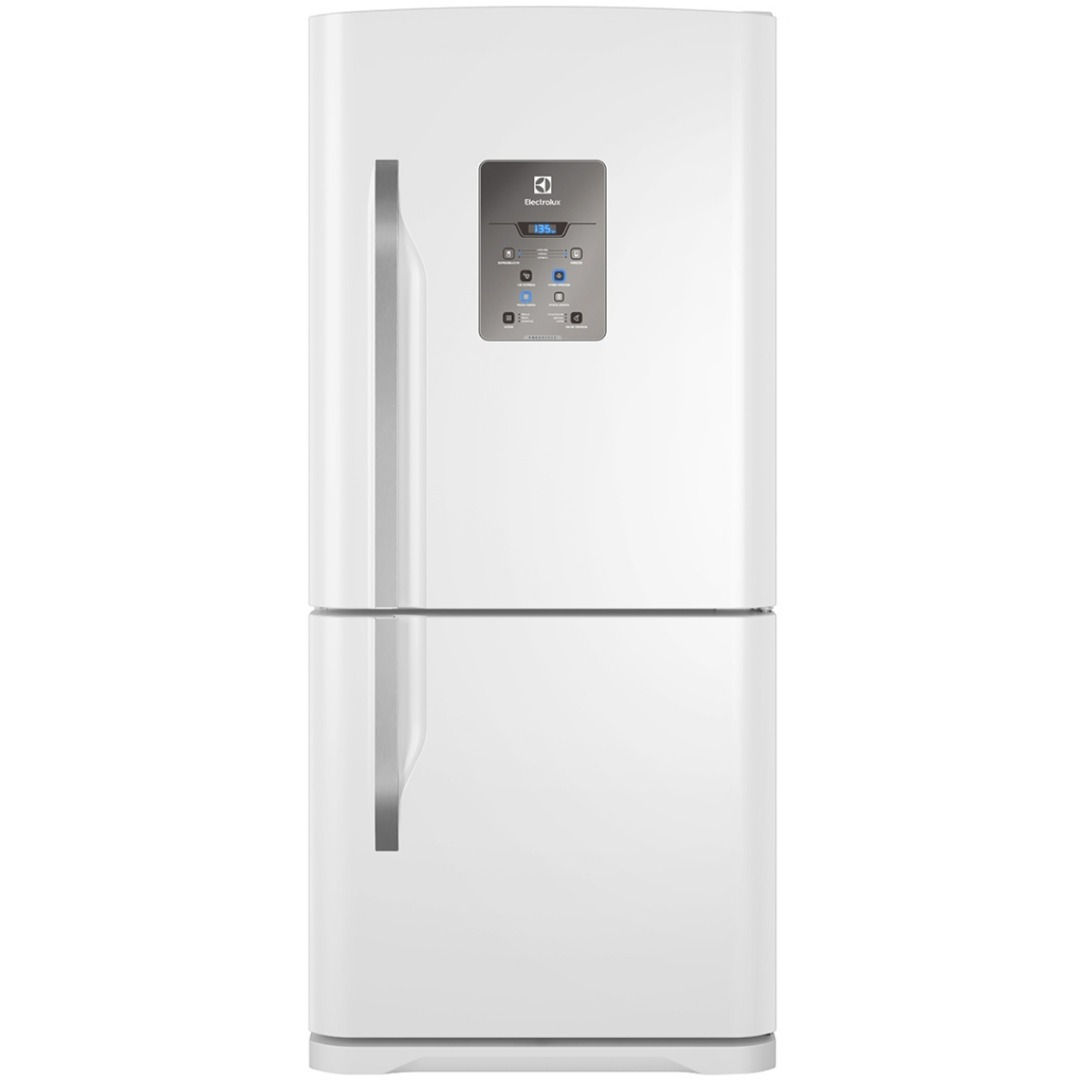 Refrigerador Bottom DB84 Frost Free com Painel Blue Touch Branca 598L - Electrolux