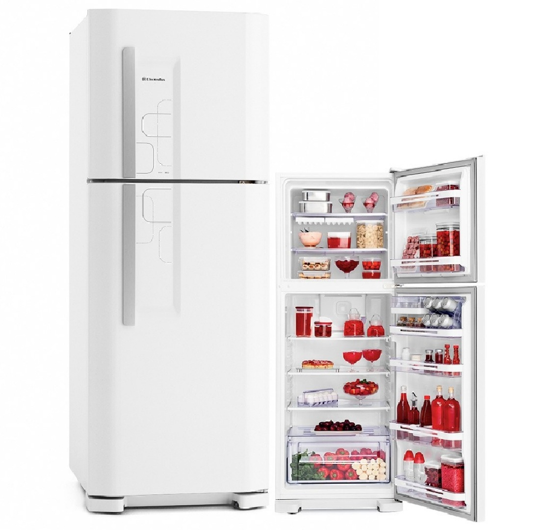 Refrigerador Cycle Defrost 110V - Duplex 475L DC51 Branco - Electrolux