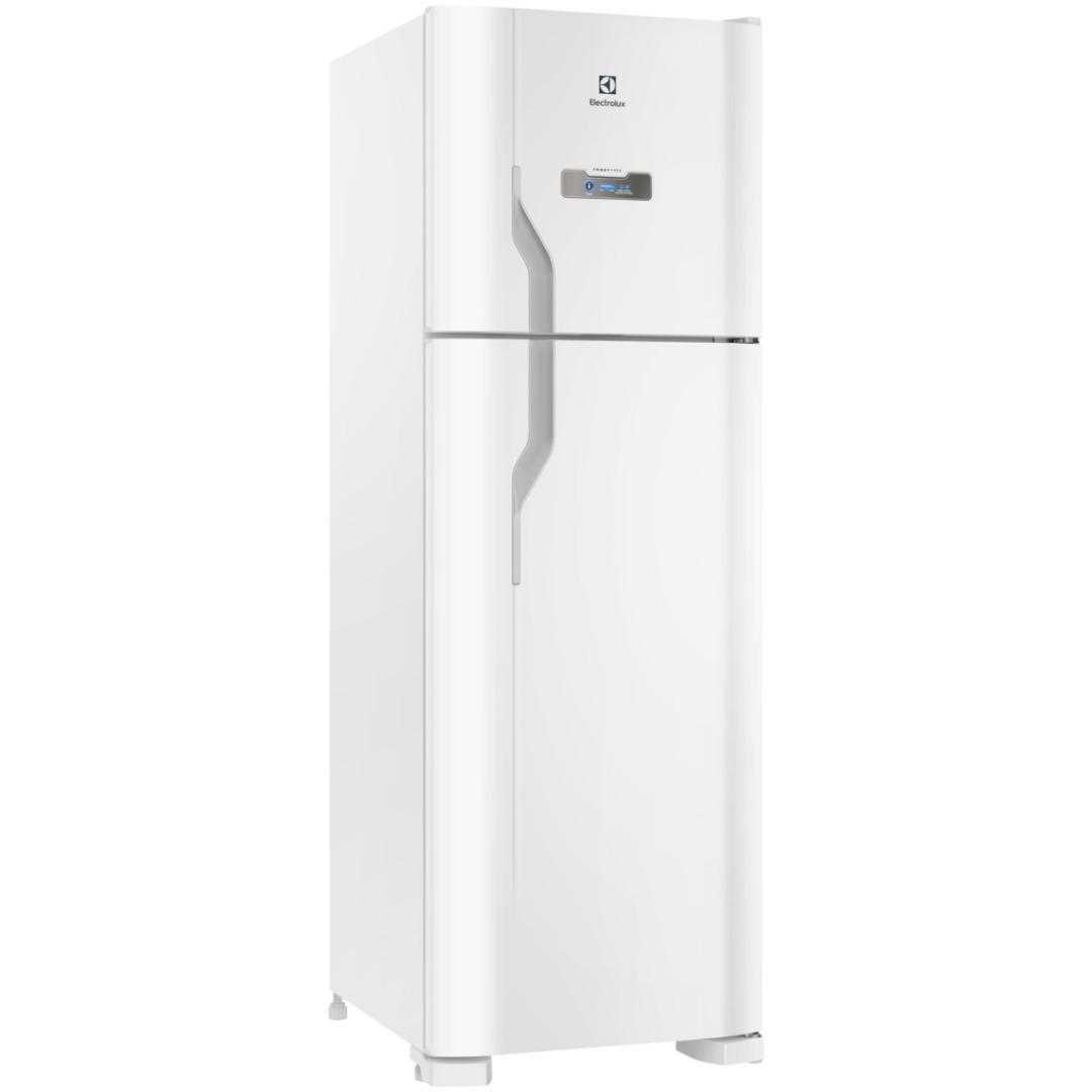 Refrigerador DFN41 Frost Free com Painel de Controle Externo 371L Branco - Electrolux