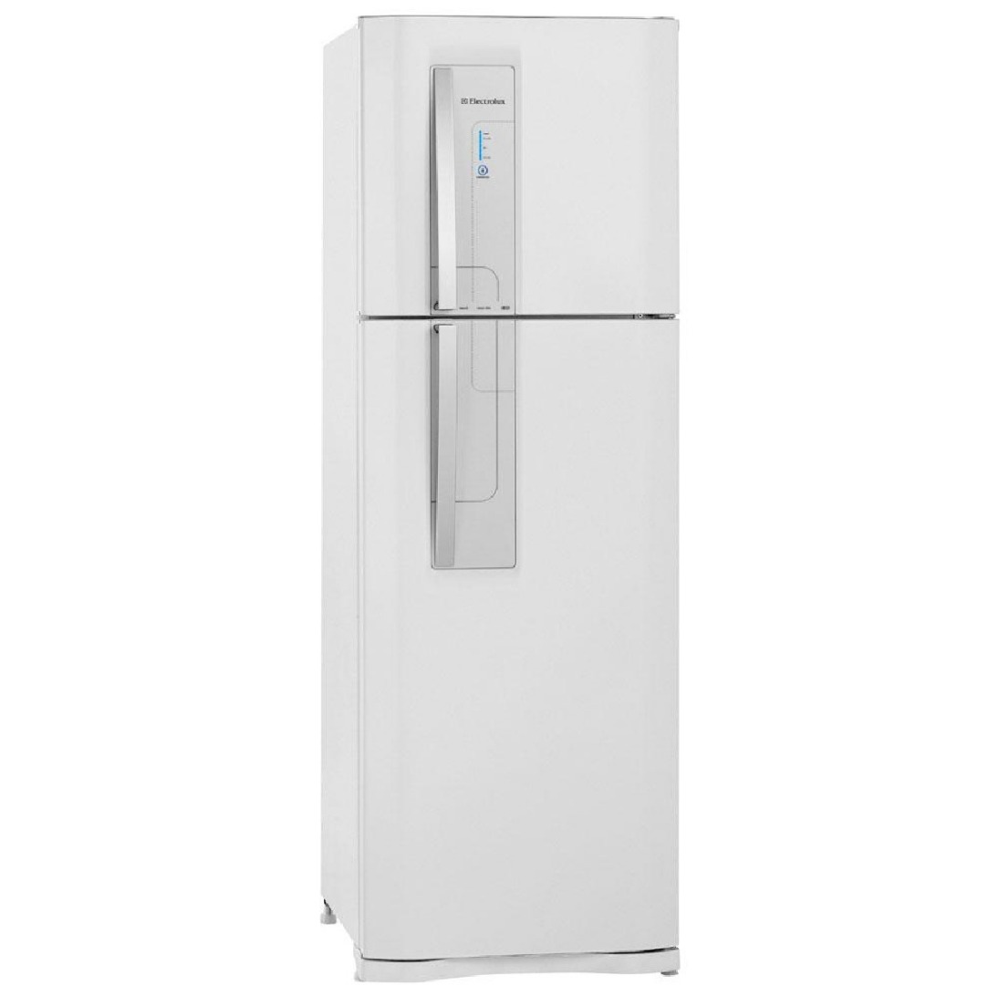 Refrigerador Duplex DF42 Frost Free 220V com Controle de Temperatura Blue Touch 382 L Branco - Electrolux