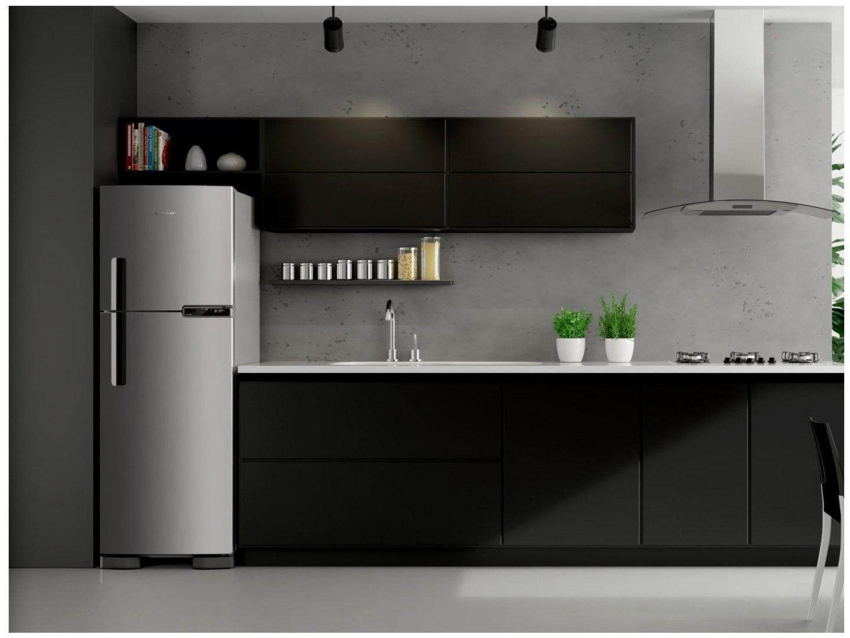 Refrigerador Frost Free 375 Litros - Brastemp - Inox