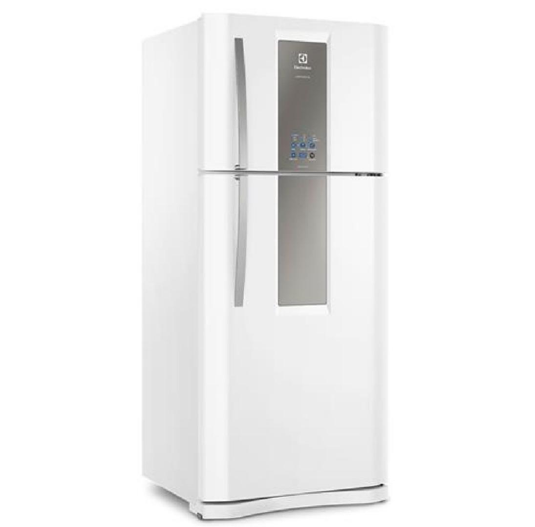 Refrigerador Infinity DF82 Frost Free com Sistema Multiflow 553L Branco 127V - Electrolux