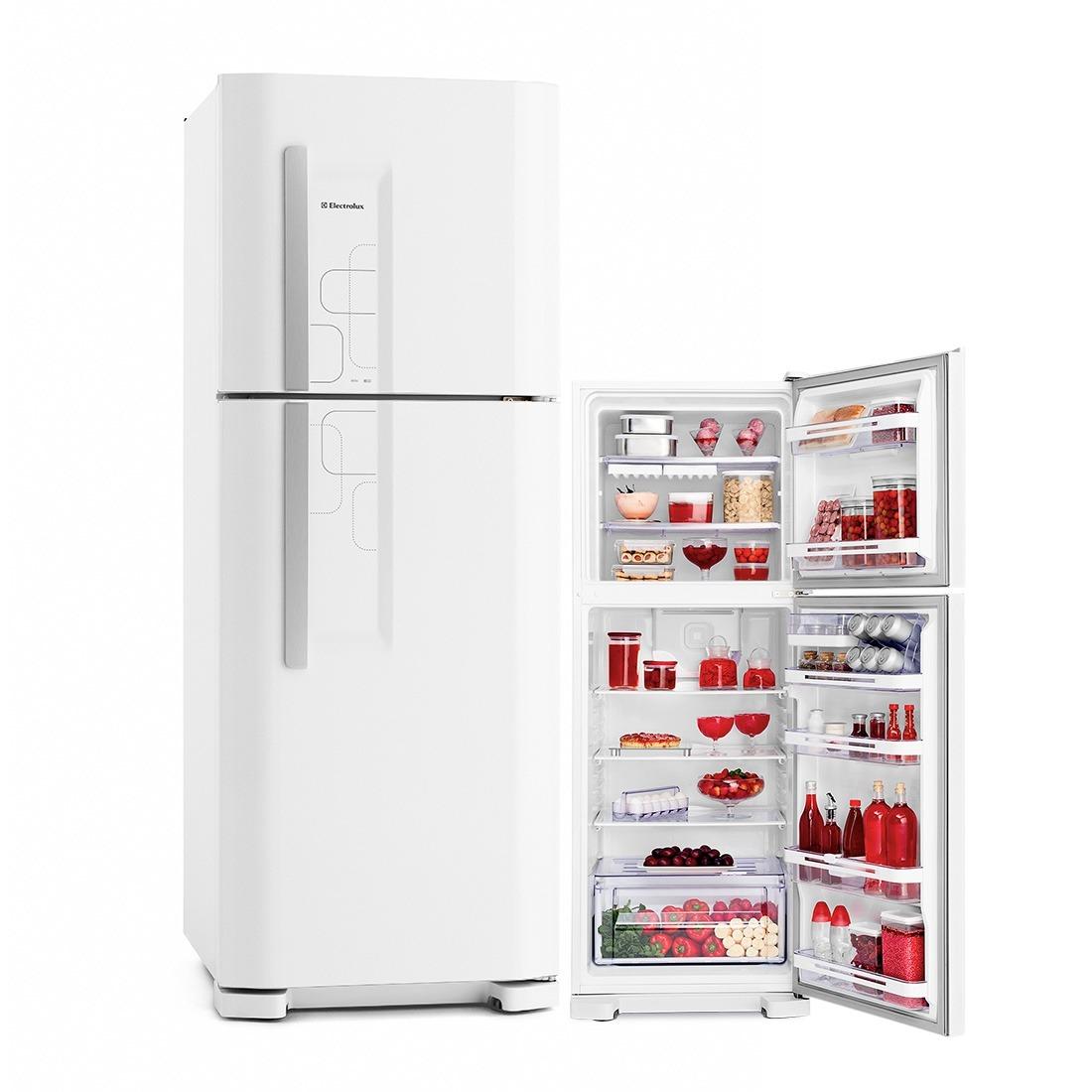 Refrigerador Cycle Defrost 220V - Duplex 475L DC51 Branco - Electrolux