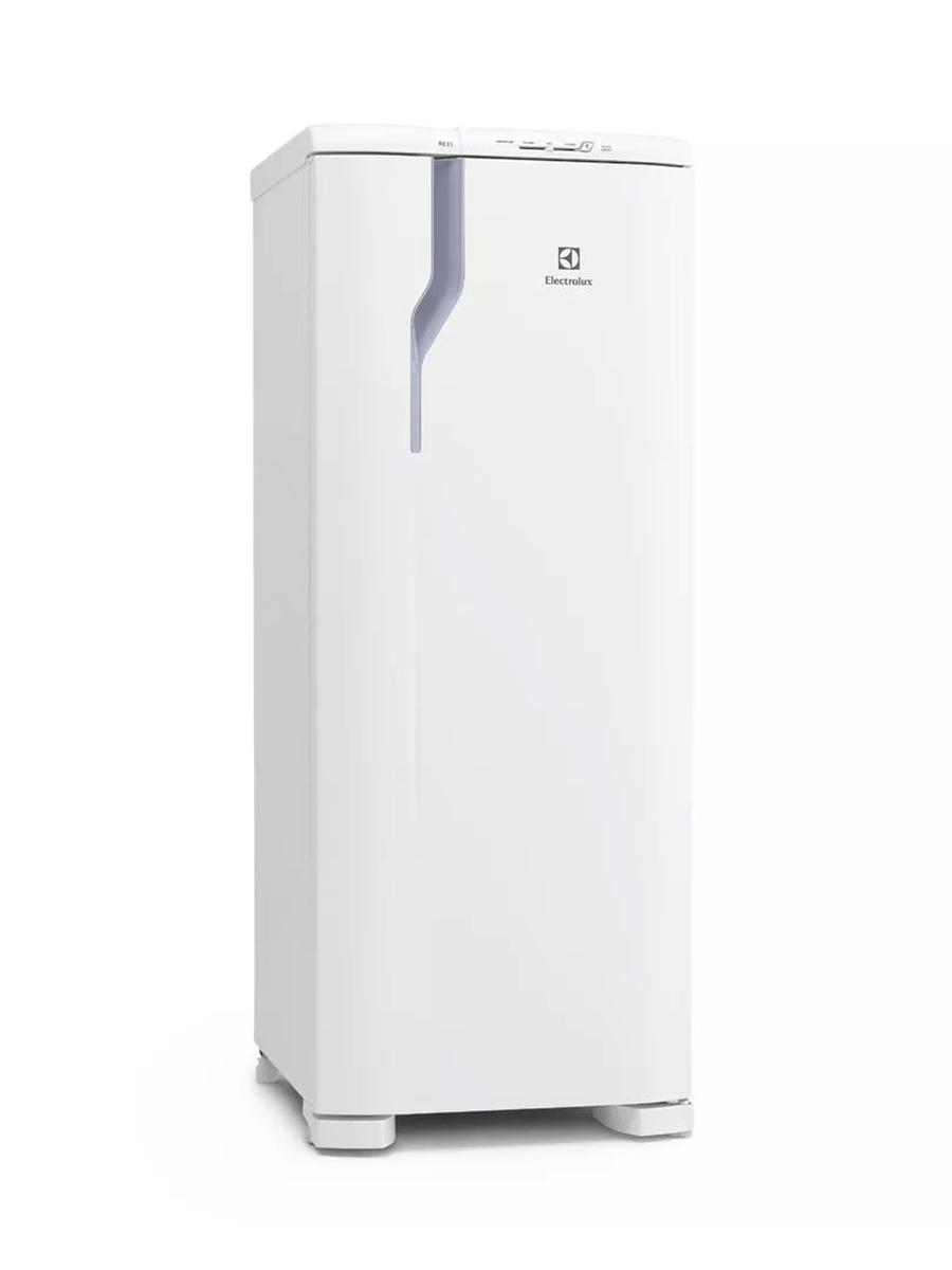 Refrigerador RE31 127V com Controle de Temperatura e Degelo Prático 240L Branco - Electrolux