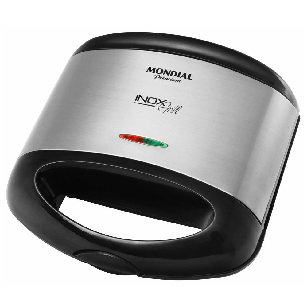 Sanduicheira e Grill Premium Inox S-07 - Mondial