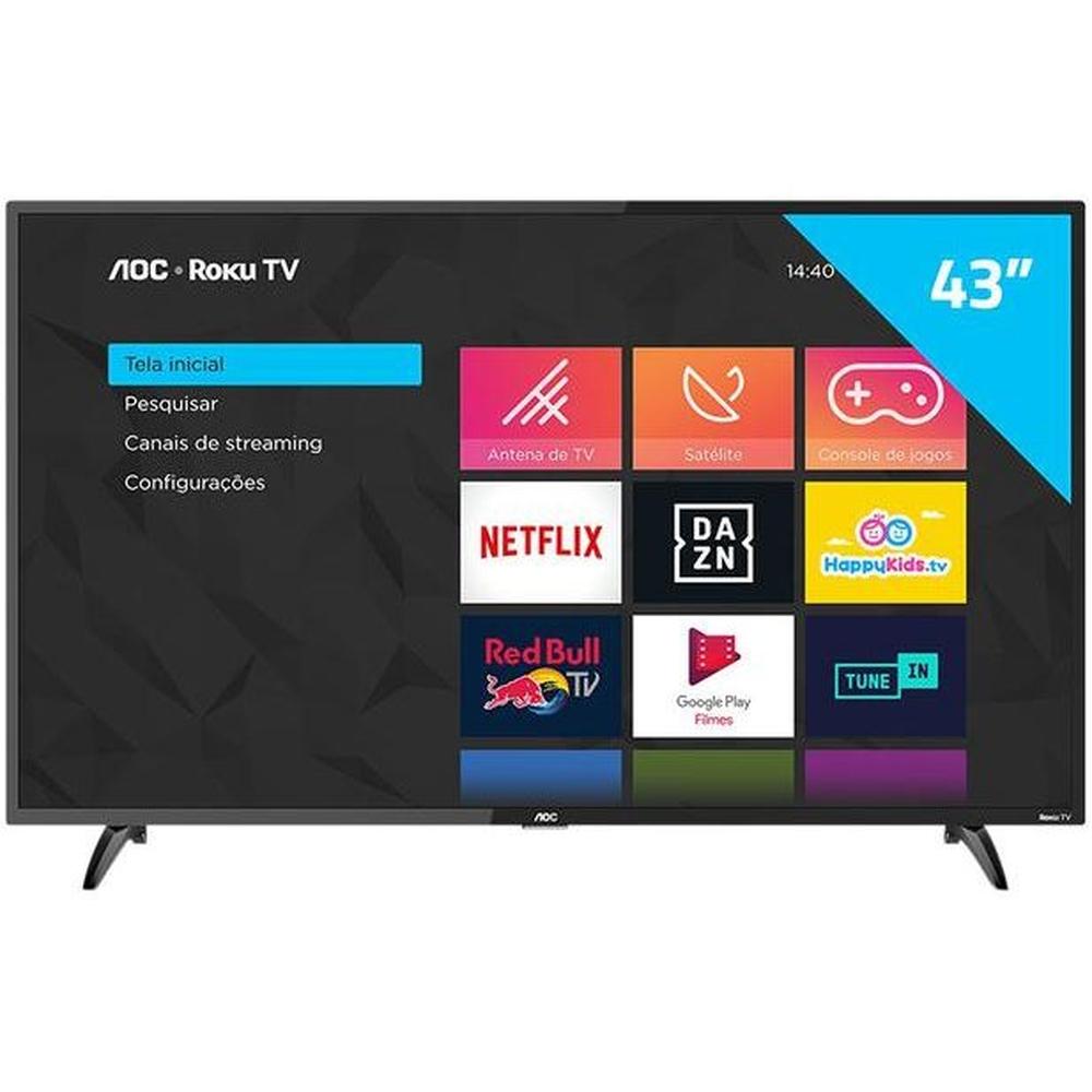 Smart Tv 43 Full HD Roku - AOC