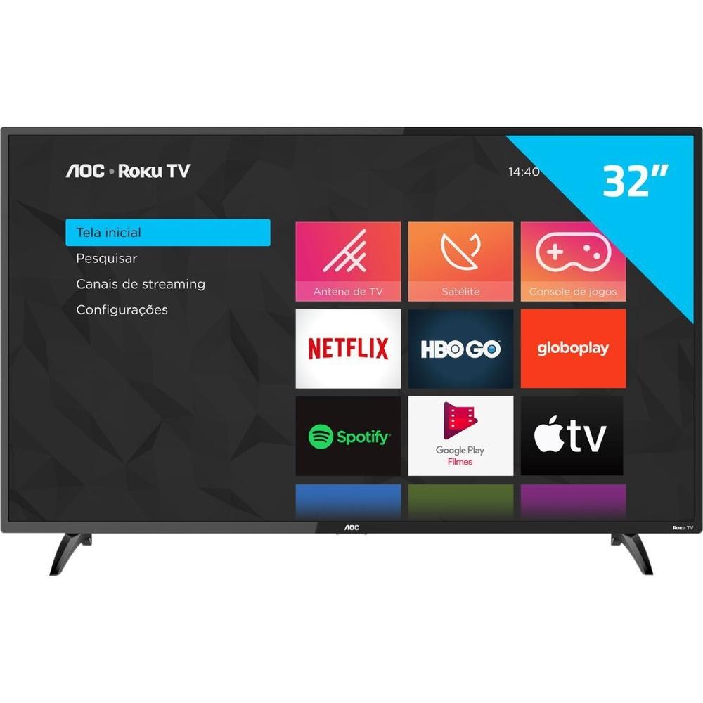 Smart Tv Led 32 Roku - AOC