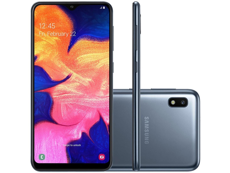 Smartphone A10 - Samsung - Preto