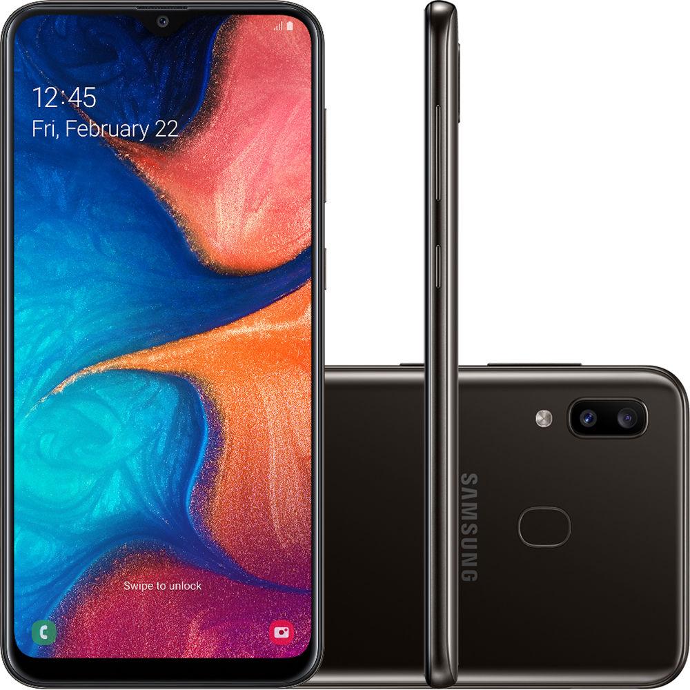 Smartphone A20 - Samsung - Preto