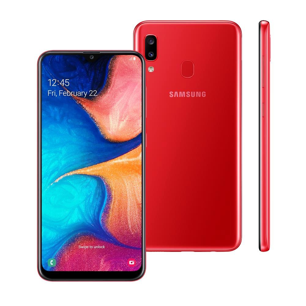 Smartphone A20 - Samsung - Vermelho