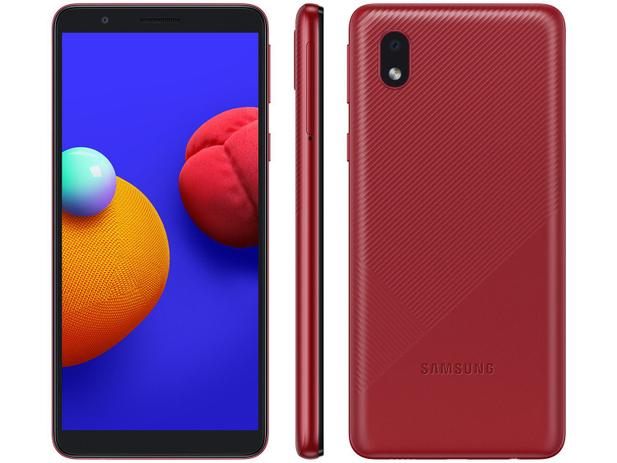 Smartphone Galaxy A01 Core - Samsung - Vermelho