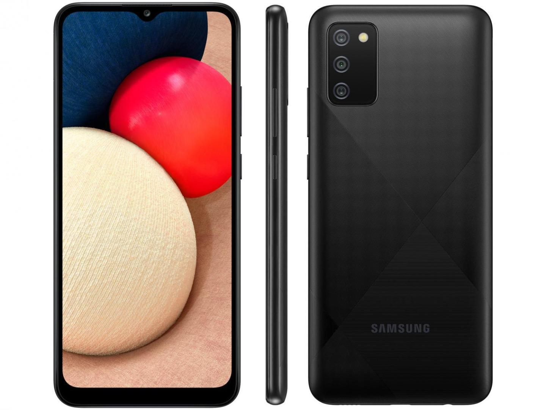 Smartphone Galaxy  A02s - Samsung - Preto