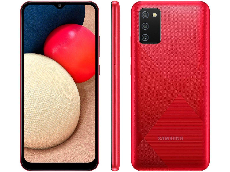 Smartphone Galaxy  A02s - Samsung - Vermelho
