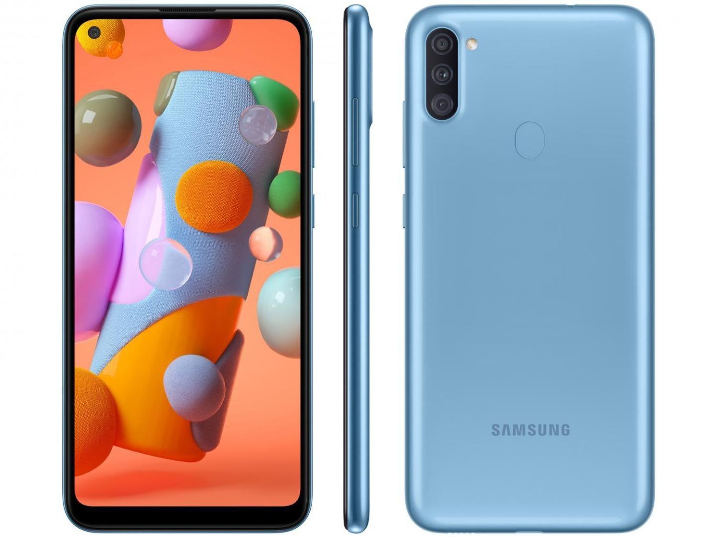 Smartphone Galaxy A11 - Samsung - Azul