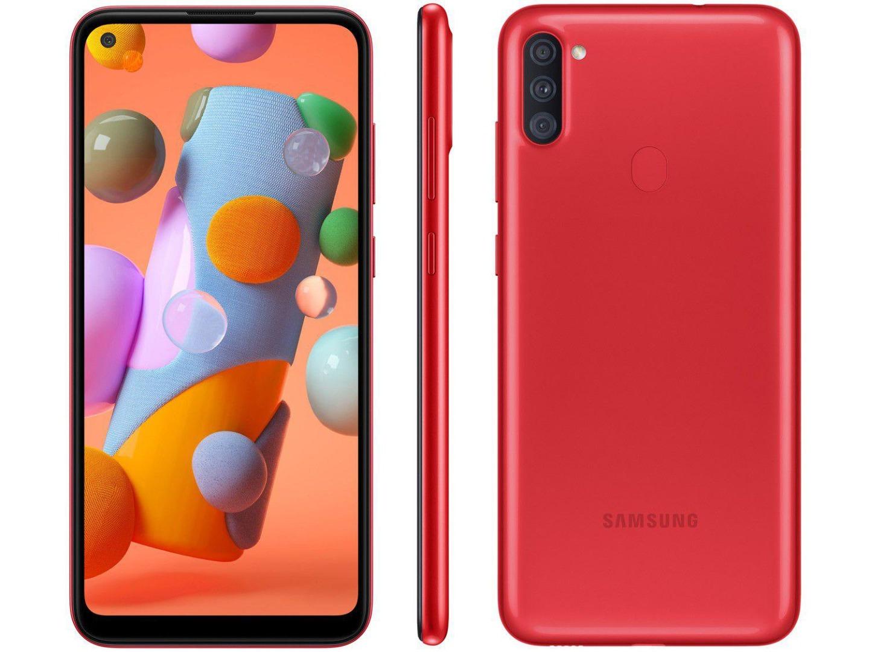 Smartphone Galaxy A11 - Samsung - Vermelho