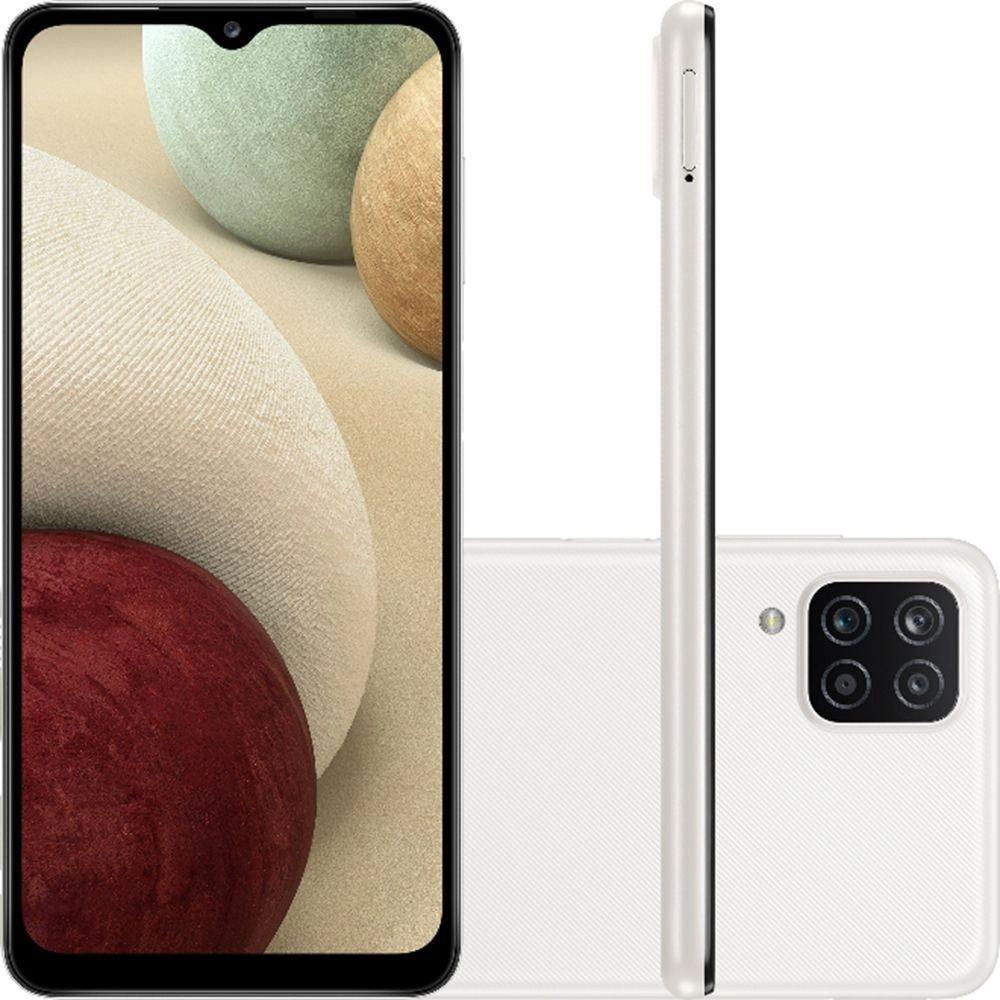 Smartphone Galaxy A12 - Samsung - Branco