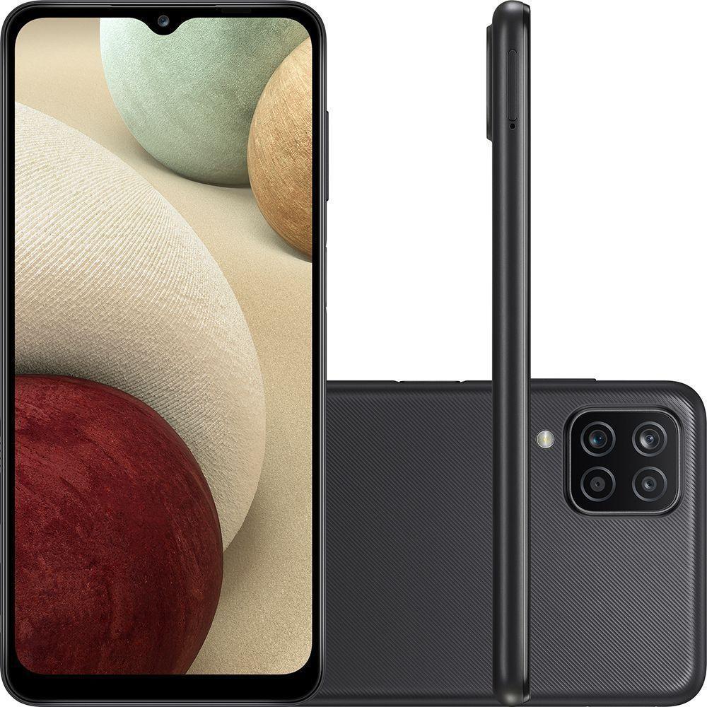 Smartphone Galaxy a12 - Samsung - Preto