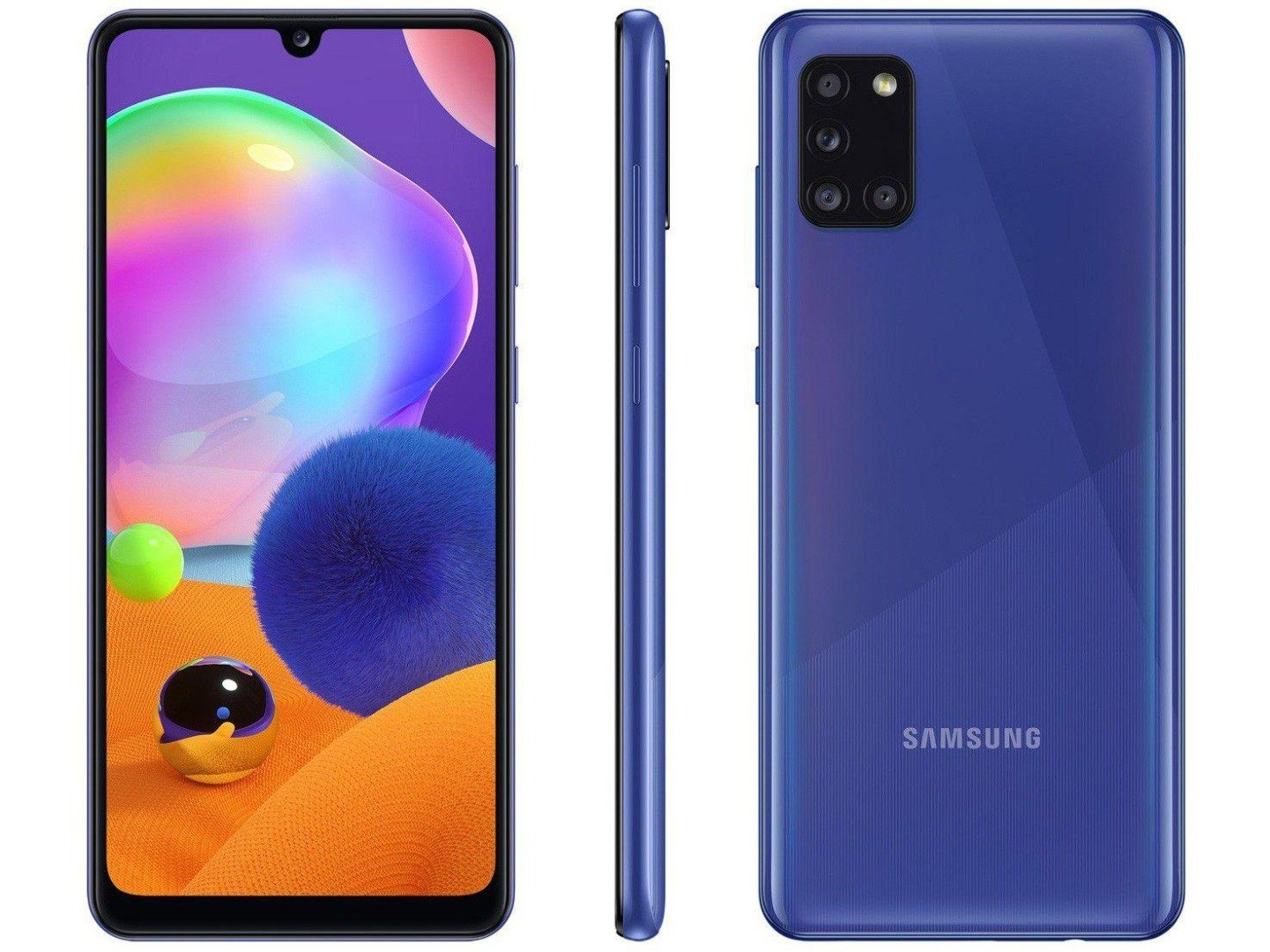 Smartphone Galaxy A31 - Samsung - Azul