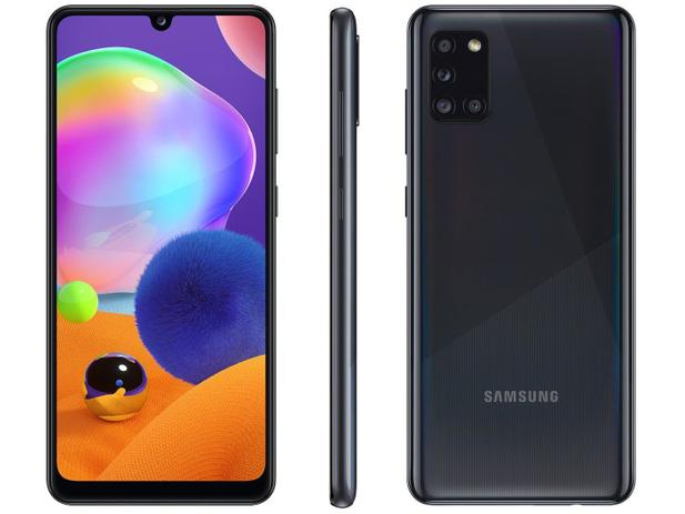 Smartphone Galaxy A31 - Samsung - Preto