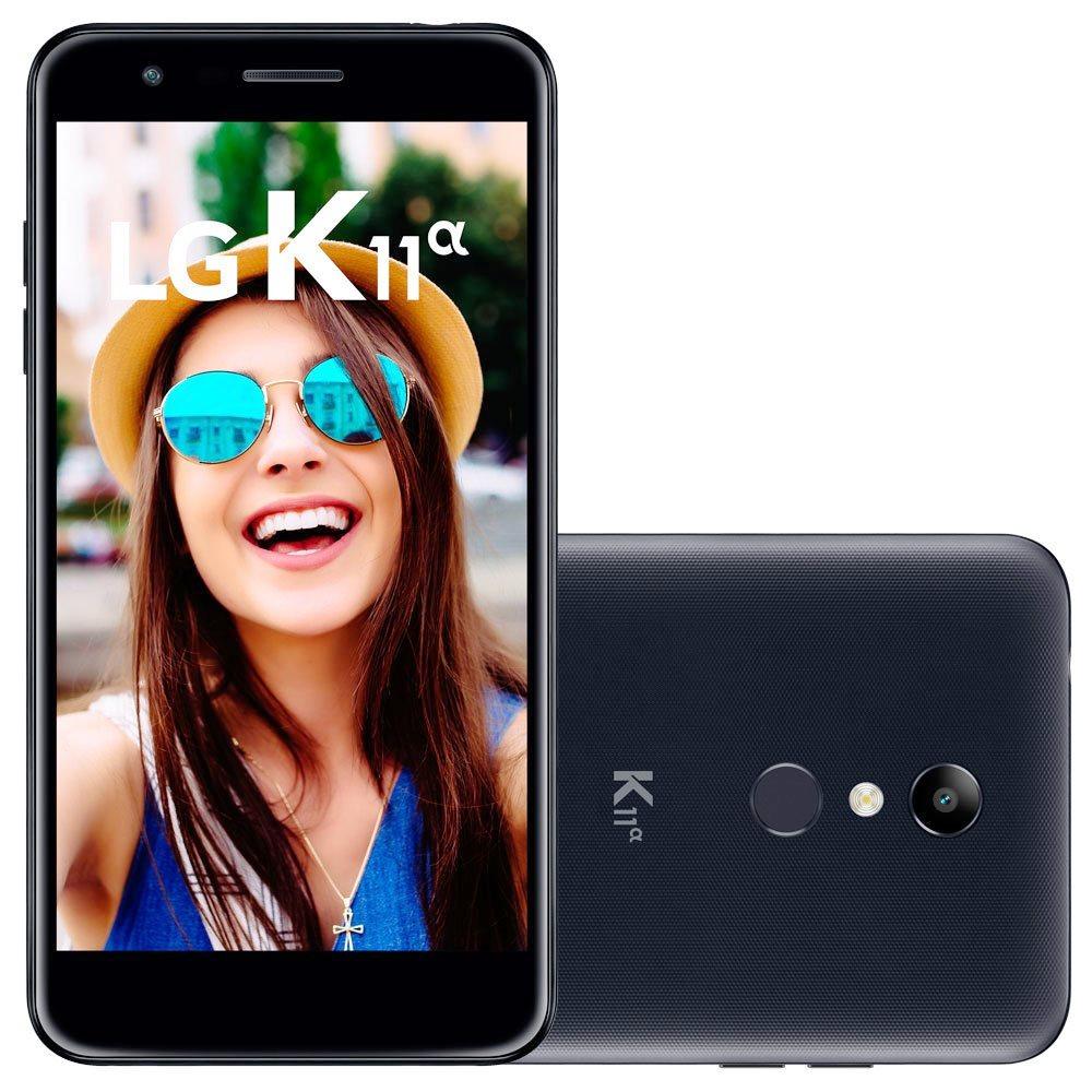 Smartphone K11 Alpha Dual Chip - LG - Dourado - Preto