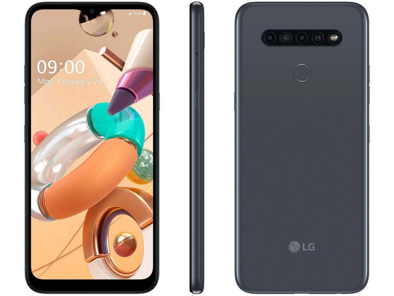 Smartphone K41S - LG - Titânio