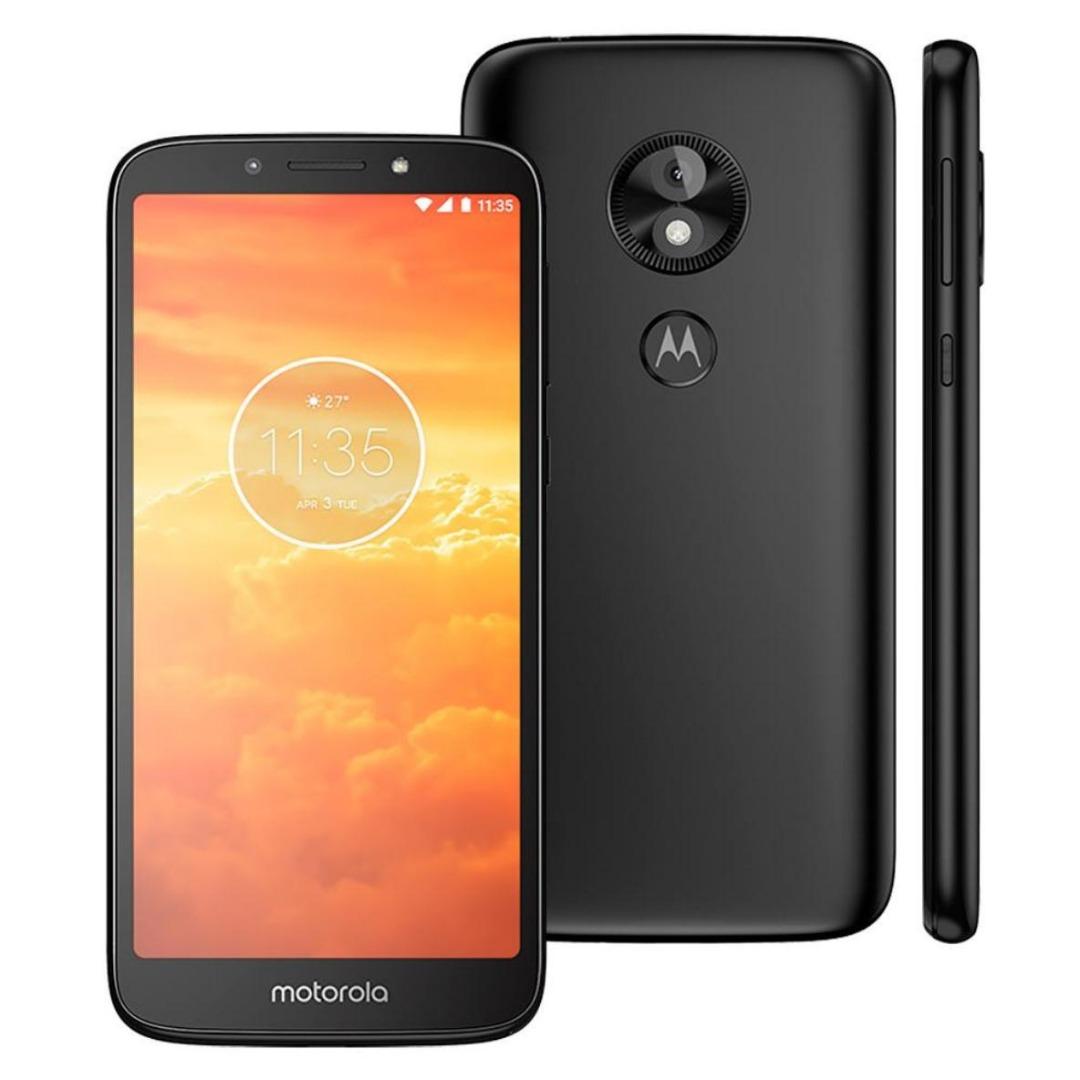 Smartphone Moto E5 Play Preto 16GB, Tela 5,3
