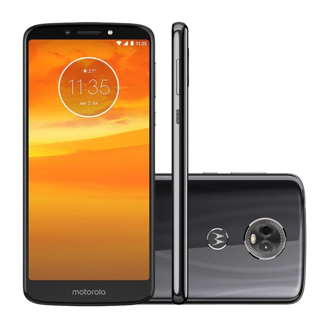 Smartphone Moto E5 Plus Dual Chip Android Oreo - 8.0 Tela 5.9